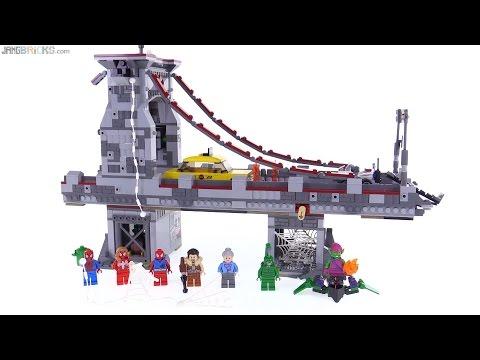 LEGO Spider-Man Web Warriors Ultimate Bridge Battle review! 76057