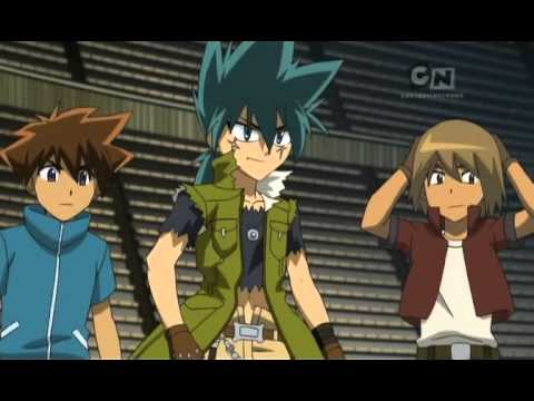 Beyblade Metal Masters -episode 18 (the Scorching Hot Lion) video