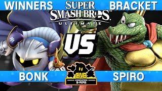 Smash Ultimate - Bonk (MK) vs Spiro (K. Rool) - CNB 168 Winners Bracket