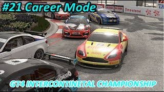 【Project CARS 2】#21 Career Mode : GT4 INTERCONTINETAL CHAMPIONSHIP R1