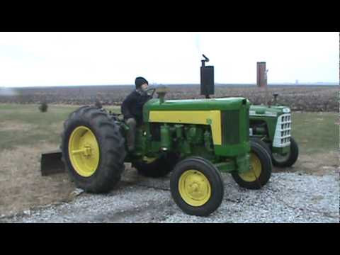 John Deere 435 Diesel Cold Start