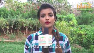 Ashna Zaveri At Nagesh Thiraiyarangam Movie Shooting Spot