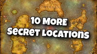 10 MORE Secret Locations in World of Warcraft