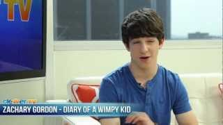Diary of a Wimpy Kid: Dog Days - Zachary Gordon Talks