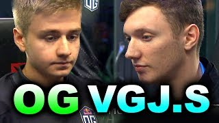 OG vs VGJ.STORM - AWESOME GAME! TOP 6 #TI8  - THE INTERNATIONAL 2018 DOTA 2