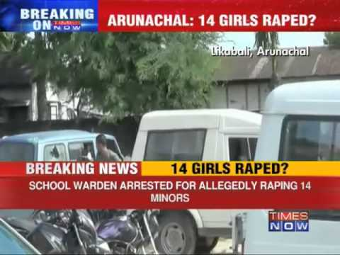 Arunachal Hostel Warden Held For Rape video