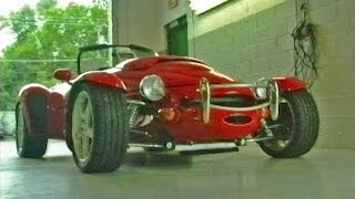 Panoz AIV Roadster  We go for a ride! 25th Anniversary! An American Morgan?