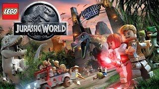 LEGO Jurassic World Dinosaur Game-Play Trailer (Xbox, Playstation, Wii U)