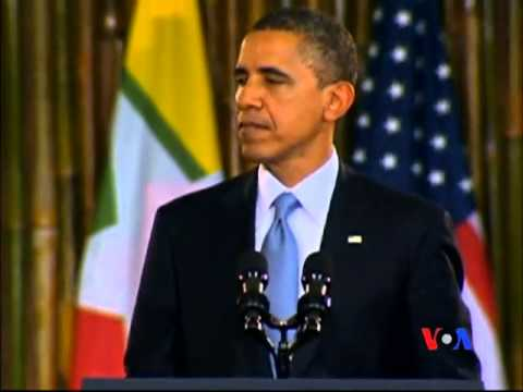 Obama Delivers a Speech at Yangon University ( English)