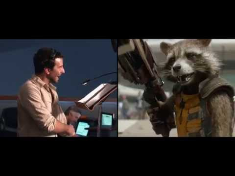 Marvel's Guardians of the Galaxy bonus clip - Bradley Cooper   HD