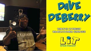 Dave DeBerry -33 million records sold Prince send goons russell simmons knows money|LIT Podcast