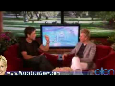 Rob Lowe on Ellen DeGeneres Show, October 6, 2009 HD VIDEO [Part 1]