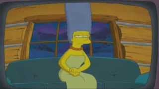 The love story of Homer & Marge