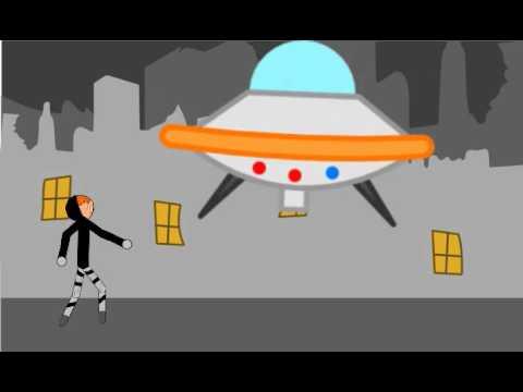 Рисуем мультфильмы . Наподение НЛО 1