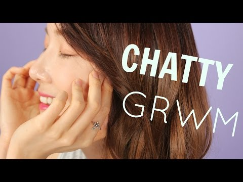 Chatty Get Ready With Me   Summer Morning Routine 2017   Troiareuke Cushion Review