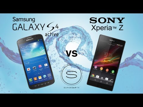 Samsung Galaxy S4 Active vs Sony Xperia Z