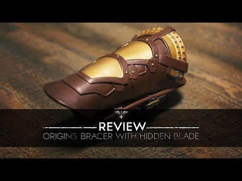 Origins Bracer with Hidden Blade Review