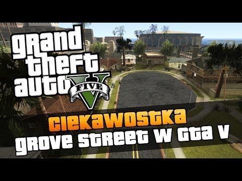 GTA V - Grove Street z GTA San Andreas / Gdzie jest Grove Street w GTA V ? Ciekawostki w GTA V [#73]