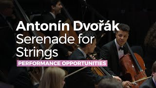 Antonín Dvořák Serenade For Strings in E major Op.22, complete - RNCM String Ensemble