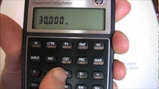 Capital Budgeting Part Two (HP10BII) -- Calculating Internal Rate of Return