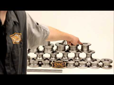 SWAG Off Road Machined Harbor Freight Tubing Roller Dies