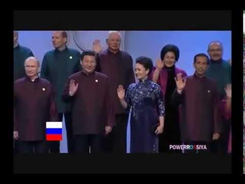 APEC China Xi Jinping keep Putin next to him while put Obama far away of him