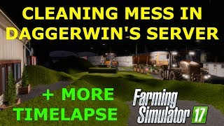 Farming Simulator 17 | Playing in Daggerwin's server | Oakfield Farm | Ep. 1 | Timelapse