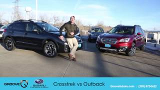 2017 Subaru Crosstrek vs Outback: what's the difference?
