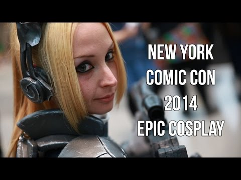 New York Comic Con NYCC 2014 Epic Cosplay 1-2