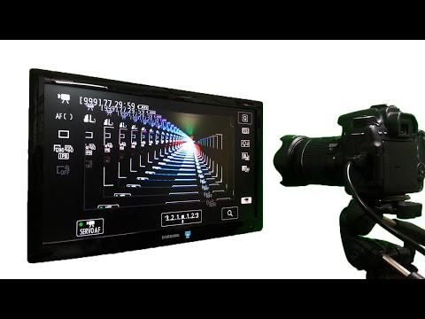 Fantastic harmony of camera and monitor !!