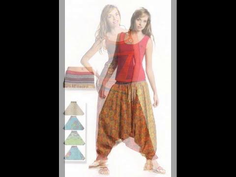 Pantalones hippies-étnicos