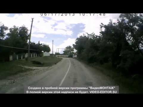 Крым. ДТП на новой машине