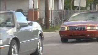 3 Droptop Cadillac Eldorado's pulled over by Police in Houston