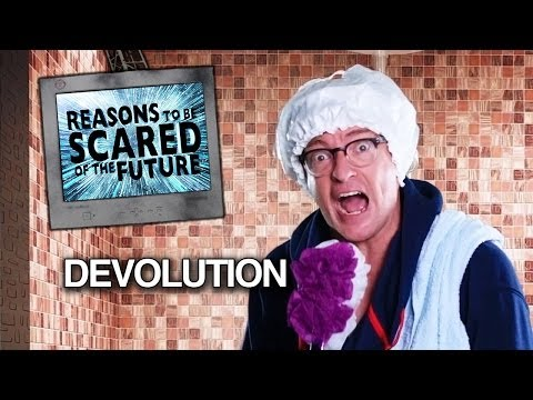DEVOLUTION – Rhys Darby's Reasons to be Scared of the Future