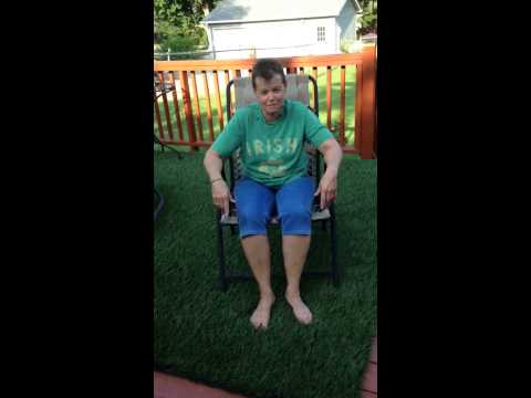 Lisa D's ice bucket challenge !!!!