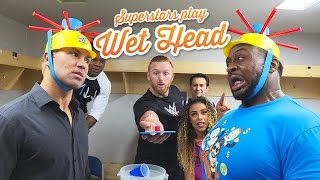 WWE Superstars play Wet Head: WWE Game Night
