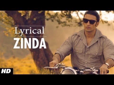 Zinda Lootera Full Song With lyrics | Ranveer Singh, Sonakshi Sinha