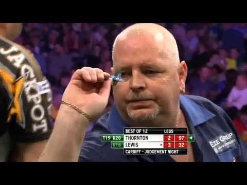 Premiere League darts week 9 Judgement Night Thornton vs Lewis