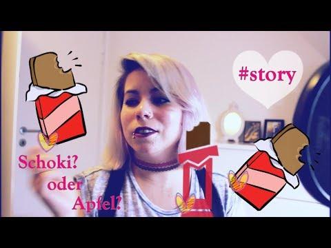 #Story |Schokolade, Äpfel,Klausuren, ungelesene Bücher