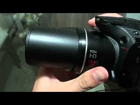Canon SX40 HS Review [HD][PT-BR] - iCoizas