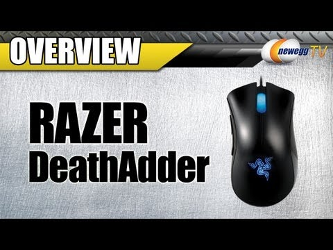 Newegg TV: RAZER DeathAdder Precision Optical Gaming Mouse Overview