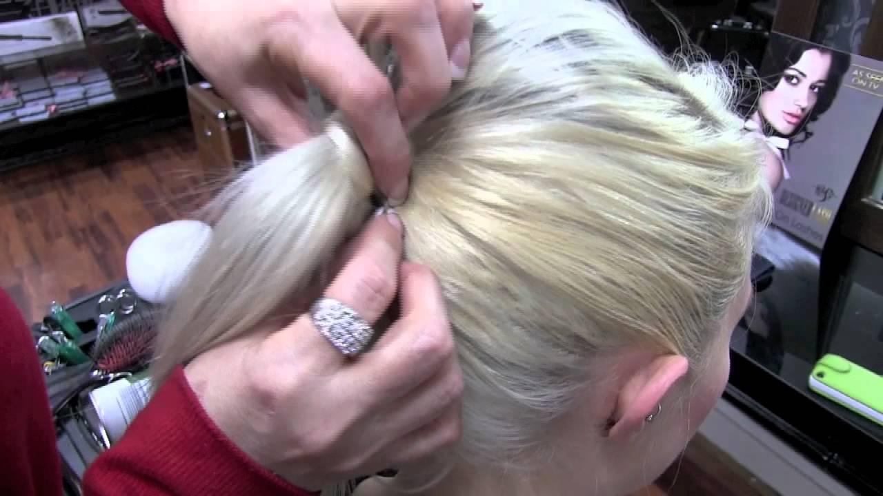 3 Easy Flight Attendant Hair Styles For Fine Hair YouTube