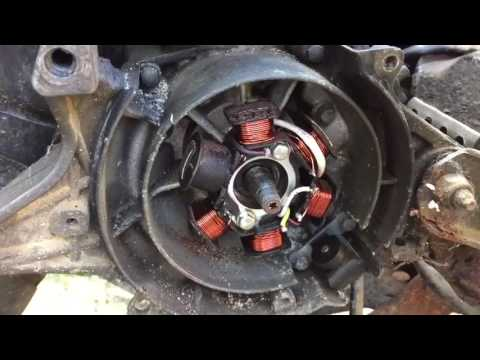 Speedfight stator coil problems not running mark savage