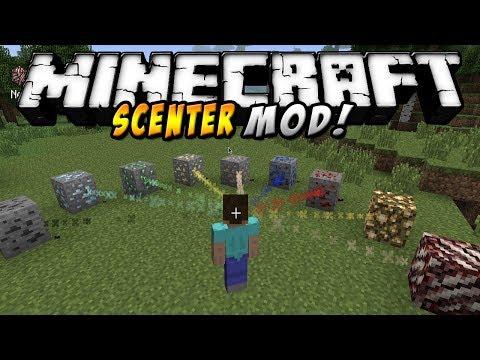Minecraft - SCENTER MOD (Encuentra los minerales que quieras!) - ESPAÑOL TUTORIAL