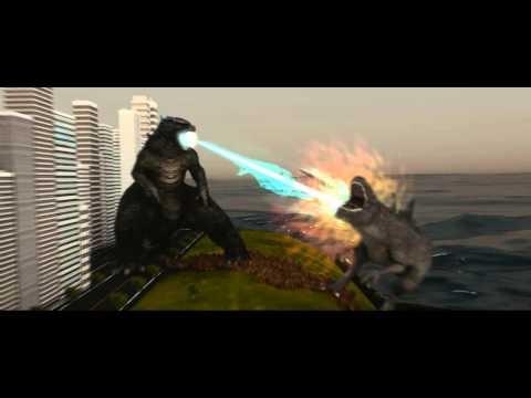 Godzilla (2014) Vs Godzilla (1998) video