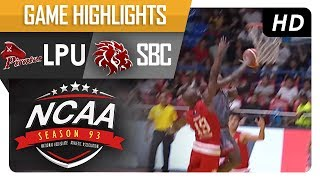 Lyceum Pirates vs. Red Lions | NCAA 93 | MB Game Highlights | July 14, 2017