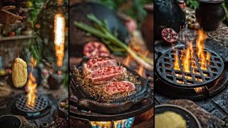 ⚠️BEST BUTTER AGED STEAK 🥩 EVER! - ASMR COOKING
