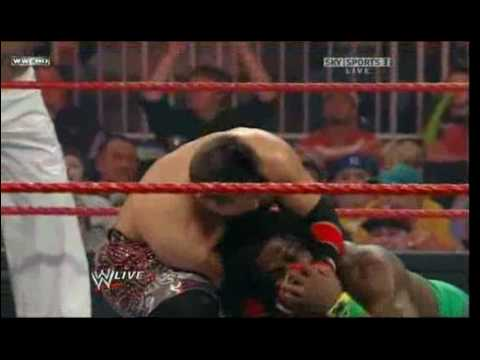 kane,mike knox,dolph ziggler,john morinson and the miz vs rey mysterio,kofi kingston ,john cena,cryme time Video