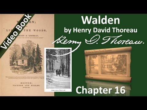 Chapter 16 - Walden by Henry David Thoreau - The Pond in Winter