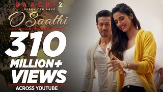 O Saathi Video Song  Baaghi 2  Tiger Shroff  Disha